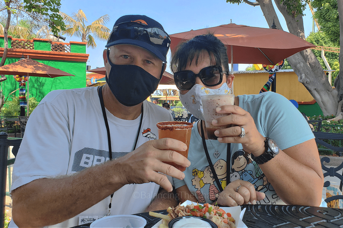 Balancing The Chaos at the Taste of Knott's