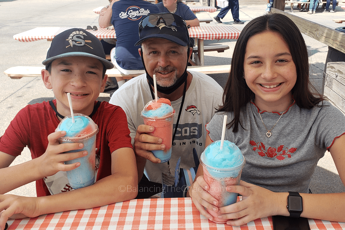 Taste of Knotts Unicorn Icee