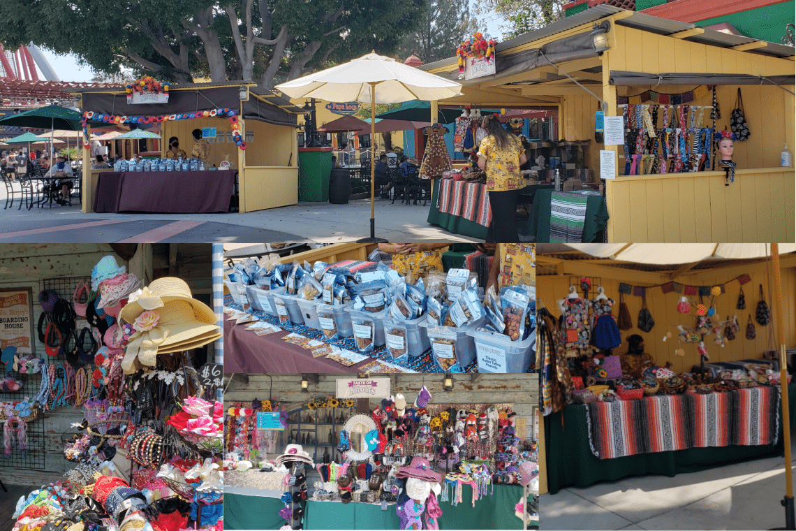 Vendors at the Taste of Knotts