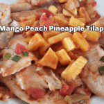First Street Mango Peach Pineapple Tilapia
