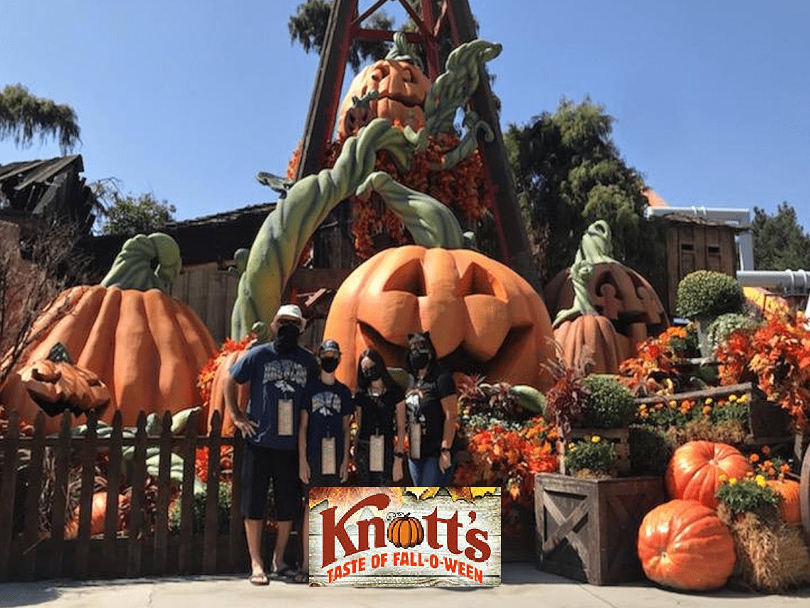 Family Friendly Halloween At Knott S Taste Of Fall O Ween Balancing The Chaos