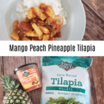 Mango Peach Pineapple Tilapia