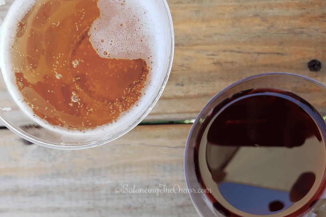 Pumpkin Cider and Boysenberry Sangria