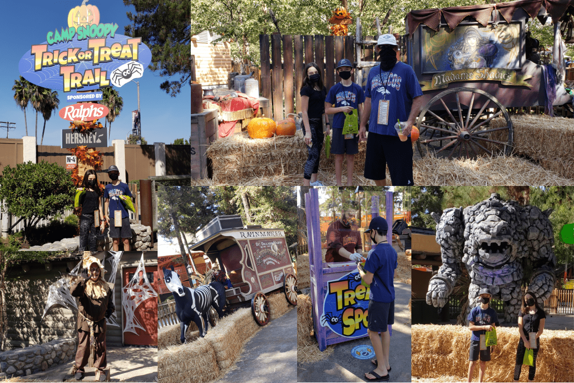 The Trick-or-Treat Trail at Taste of Fall-O-Ween, Knott's Berry Farm