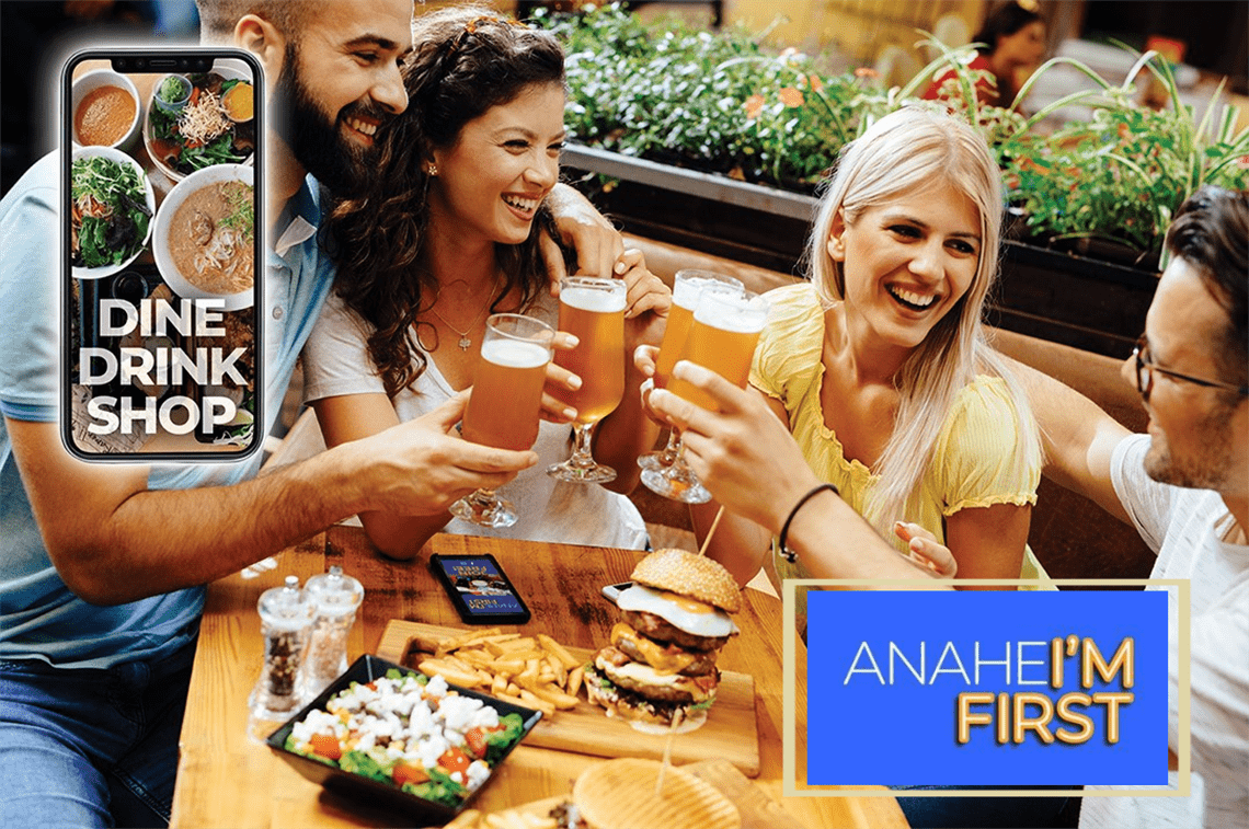 Anaheim First local deal finder