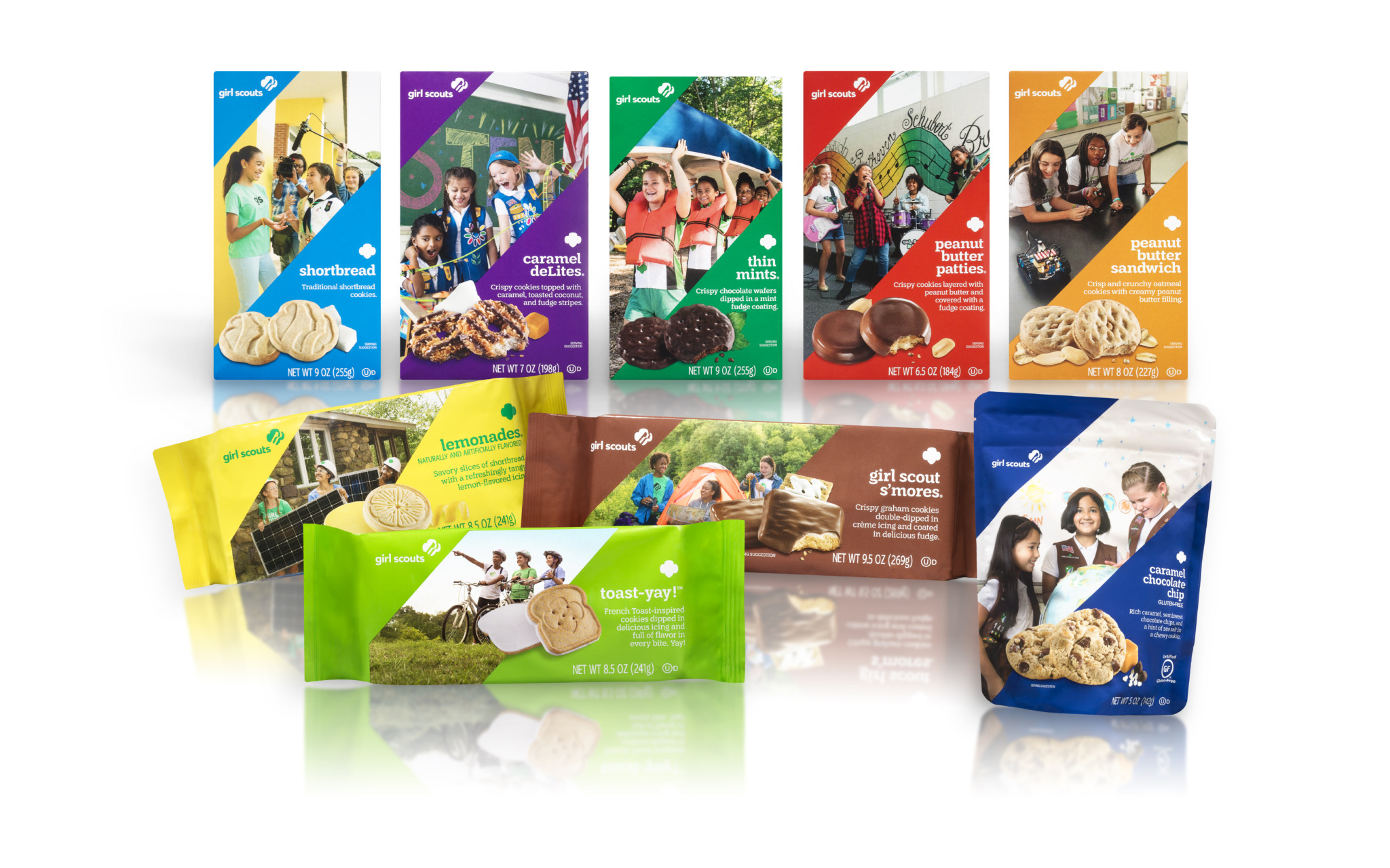 2021 Girl Scout Cookie Lineup