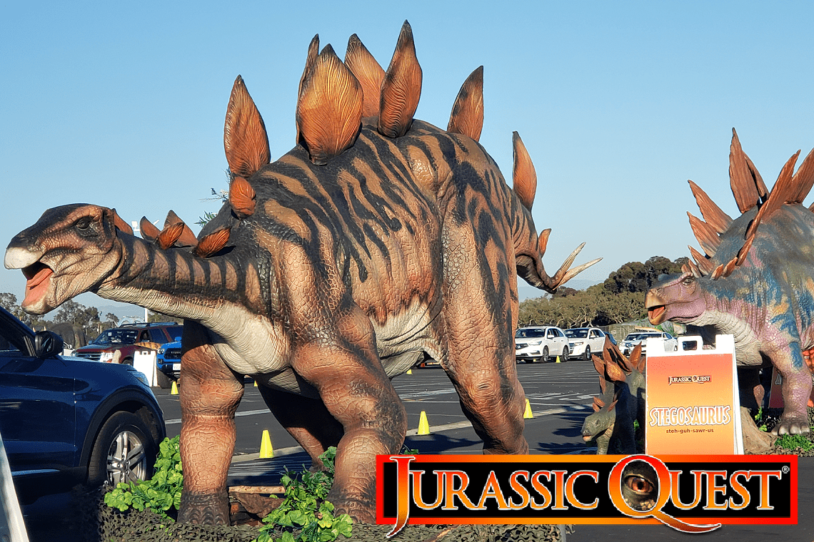 Jurassic Quest in Costa Mesa CA