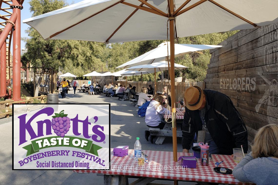 Taste of Boysenberry Festival Social Distanced Dining