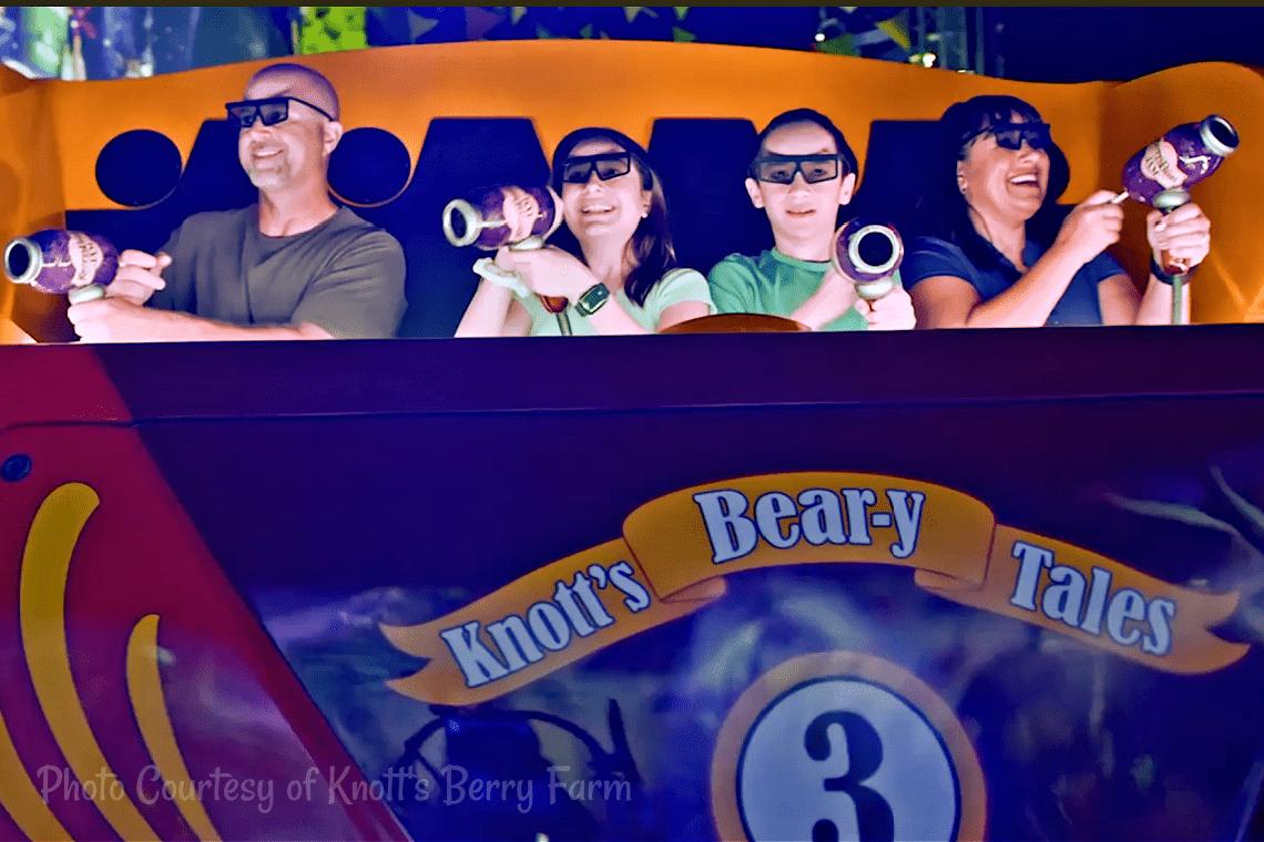Knott's Bear-y Tales: Return To The Fair Ride