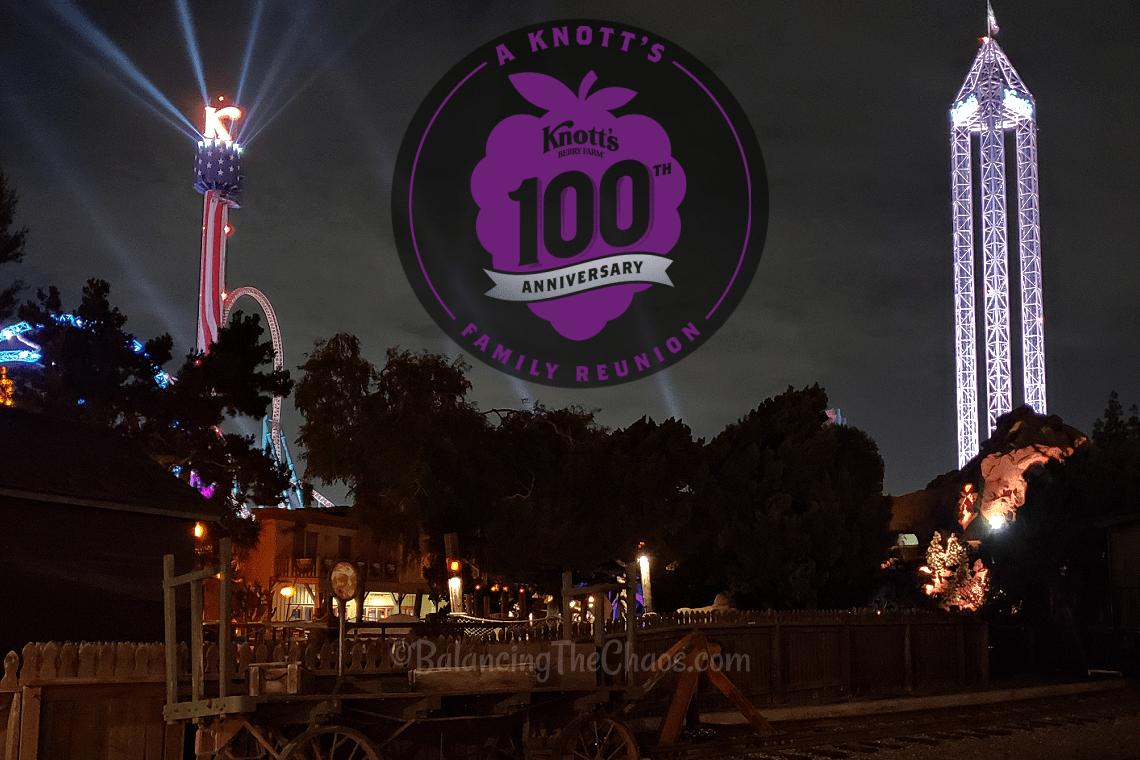 Knott's 100th Anniversary Celebration Family Reunion