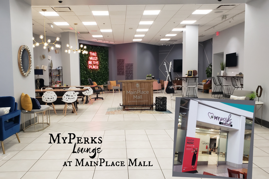 MyPerks Lounge at MainPlace Mall is where you pick up your Shop Now! purchases.