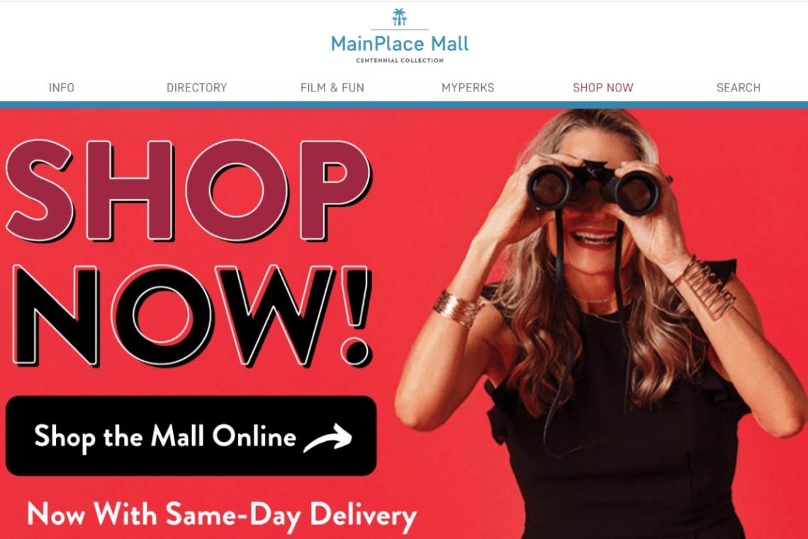 ShopNow! online with MainPlace Mall Santa Ana