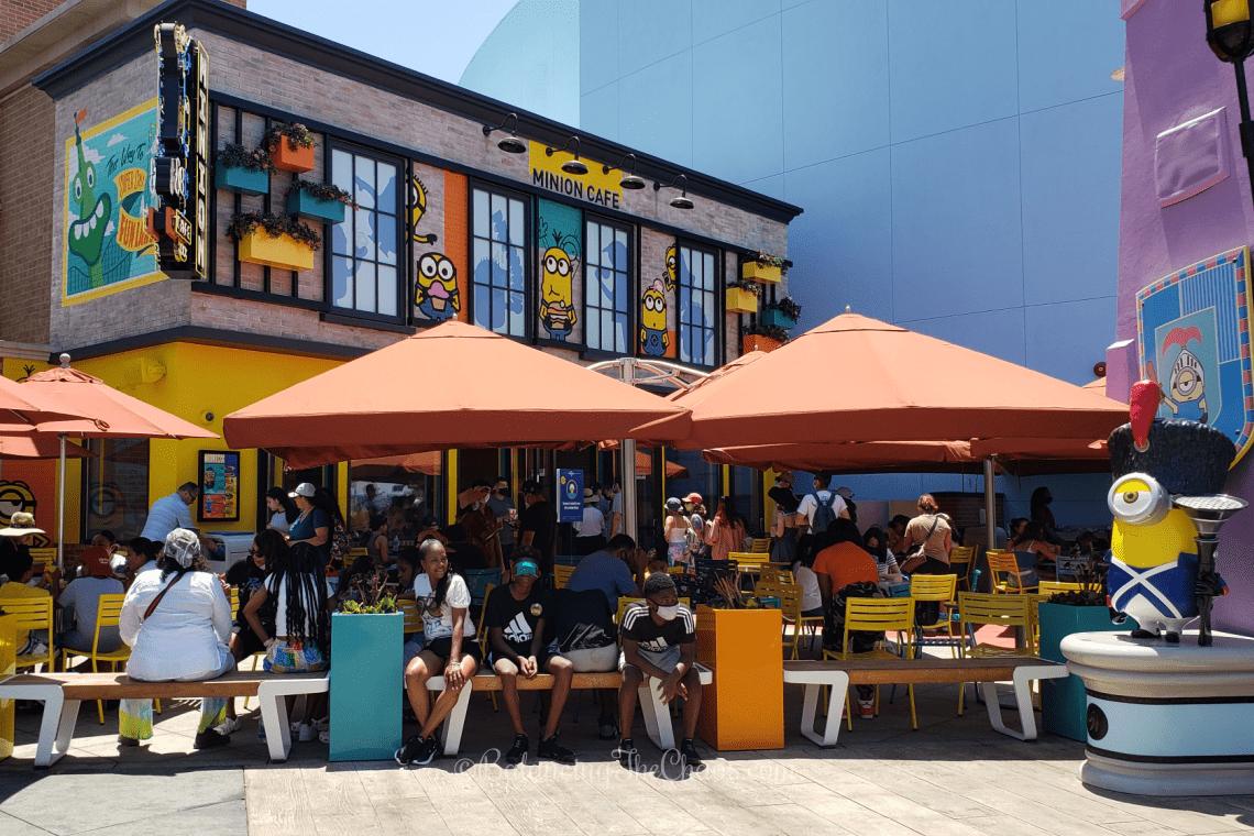 Minion Café at Universal Studios Hollywood