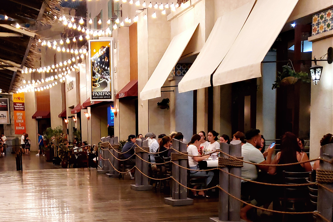 Pampas Las Vegas Miracle Mile Shops Planet Hollywood