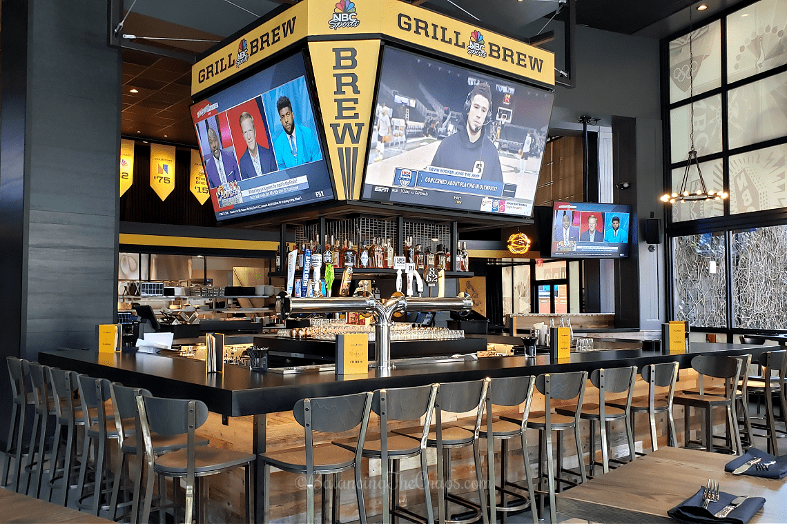 The Bar at NBC Sports Grill and Brew at Universal CityWalk