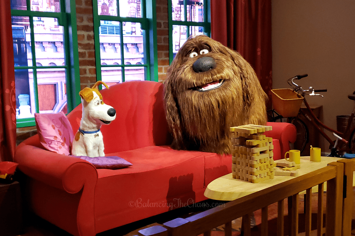 The Secret Life of Pets Off The Leash Ride at Universal Studios Hollywood