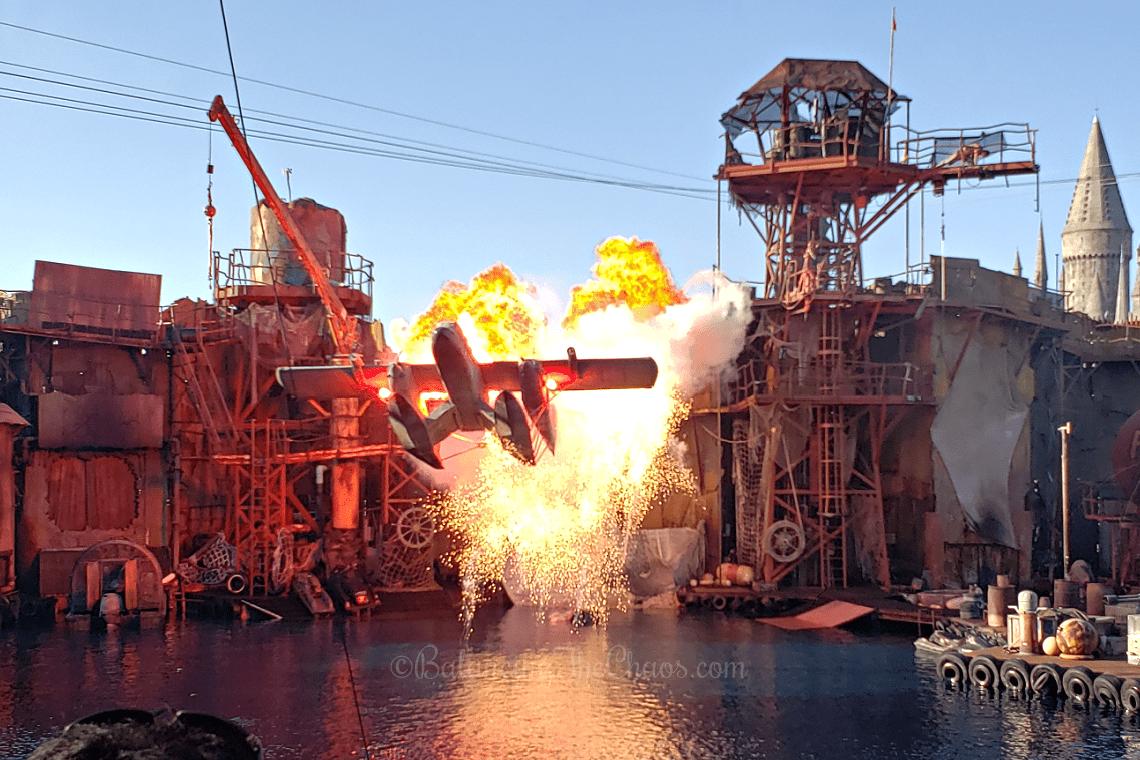 Stunts at WaterWorld