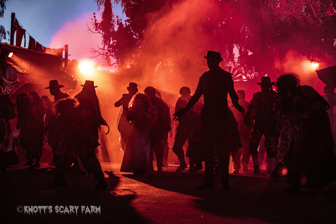 Monsters of Ghost Town - Knott's Berry Farm