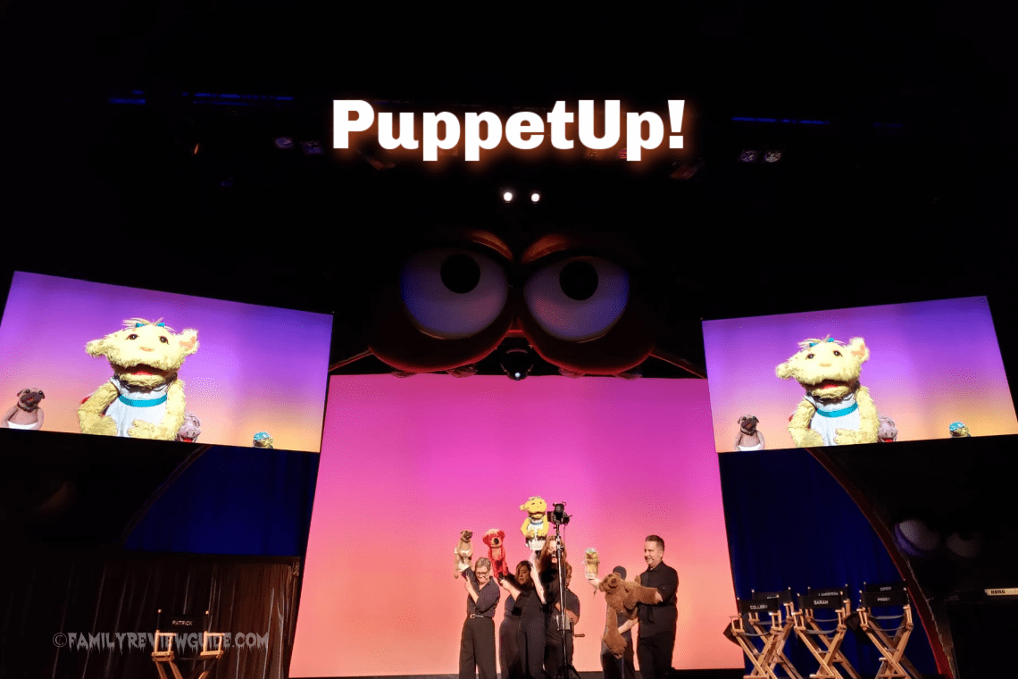 Puppet Up! at Knott's Scary Farm with Jim Henson Puppeteers.