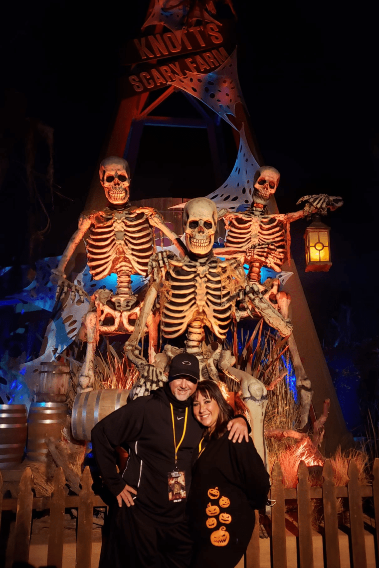 The Willeys at Knott's Scary Farm