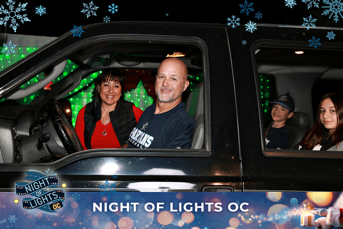 Willey Family at Night of Lights OC